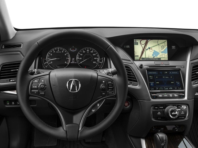 2016 Acura RLX Prices and Values Sedan 4D Technology V6 driver's dashboard