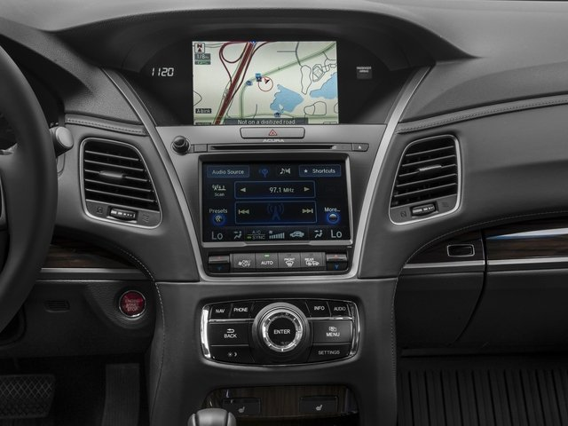 2016 Acura RLX Prices and Values Sedan 4D Technology V6 stereo system