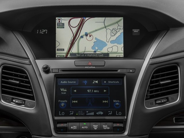2016 Acura RLX Prices and Values Sedan 4D Technology V6 navigation system