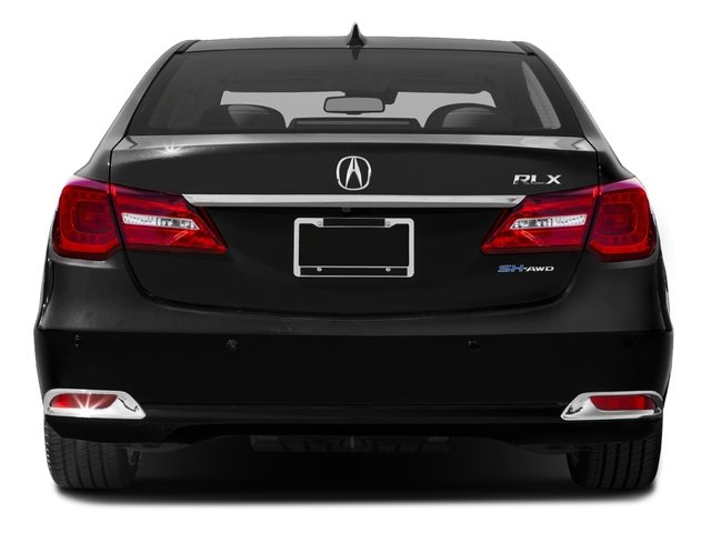 2016 Acura RLX Pictures RLX Sedan 4D Advance AWD V6 Hybrid photos rear view