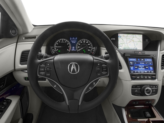 2016 Acura RLX Prices and Values Sedan 4D Technology AWD V6 Hybrid driver's dashboard