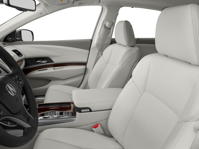 2016 Acura RLX Prices and Values Sedan 4D Technology AWD V6 Hybrid front seat interior