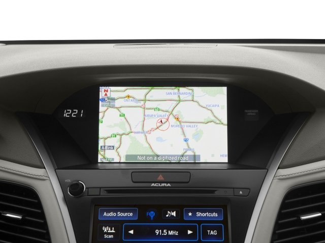 2016 Acura RLX Pictures RLX Sedan 4D Advance AWD V6 Hybrid photos navigation system