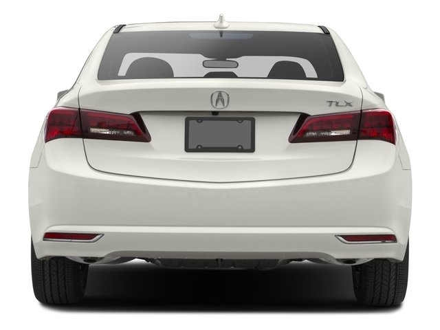2016 Acura TLX Pictures TLX Sedan 4D Technology V6 photos rear view