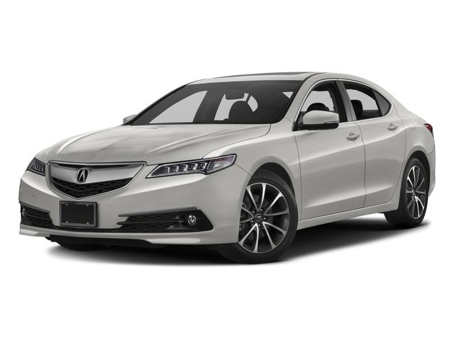2016 Acura TLX Pictures TLX Sedan 4D Advance V6 photos side front view
