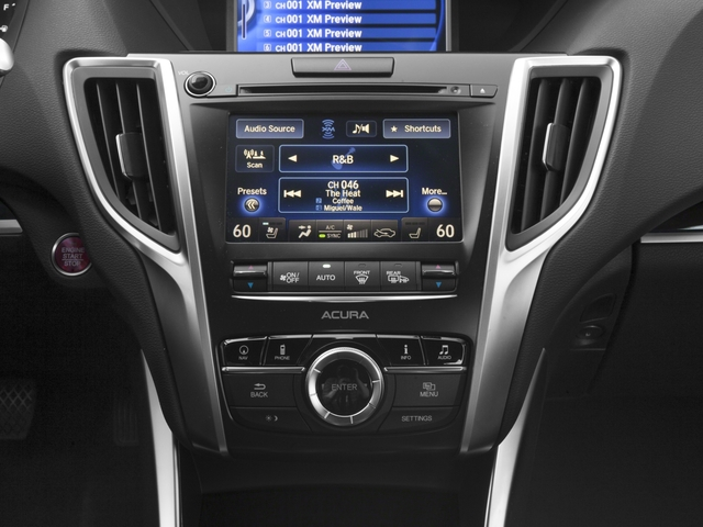 2016 Acura TLX Prices and Values Sedan 4D Advance V6 stereo system