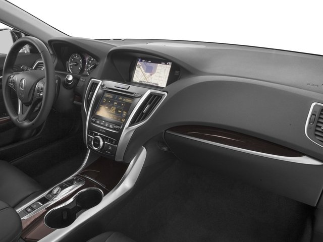 2016 Acura TLX Prices and Values Sedan 4D Advance V6 passenger's dashboard