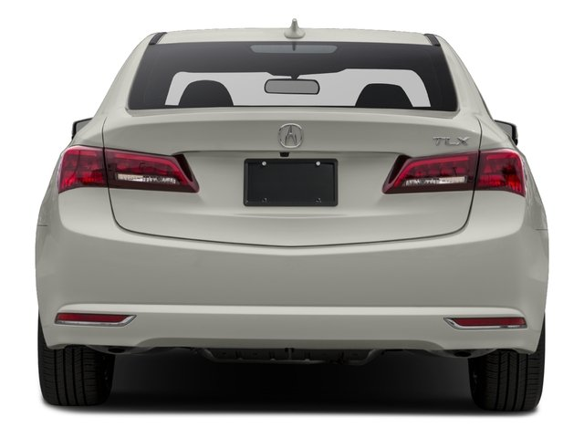 2016 Acura TLX Pictures TLX Sedan 4D I4 photos rear view
