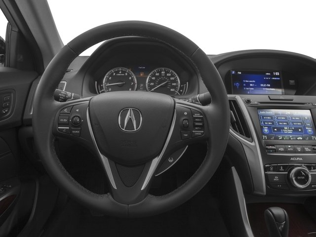 2016 Acura TLX Prices and Values Sedan 4D Technology I4 driver's dashboard