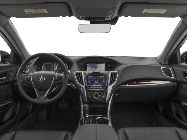 2016 Acura TLX Prices and Values Sedan 4D Technology I4 full dashboard