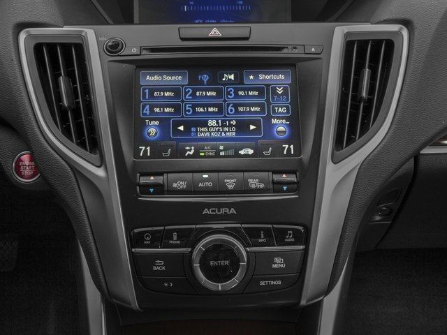 2016 Acura TLX Prices and Values Sedan 4D Technology I4 stereo system