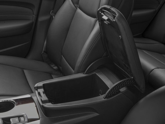 2016 Acura TLX Prices and Values Sedan 4D Technology I4 center storage console