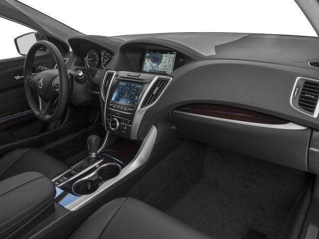 2016 Acura TLX Prices and Values Sedan 4D Technology I4 passenger's dashboard