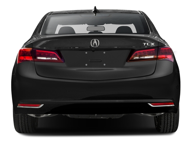 2016 Acura TLX Prices and Values Sedan 4D V6 rear view