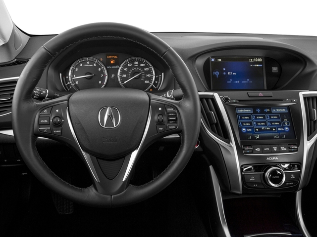 2016 Acura TLX Prices and Values Sedan 4D V6 driver's dashboard