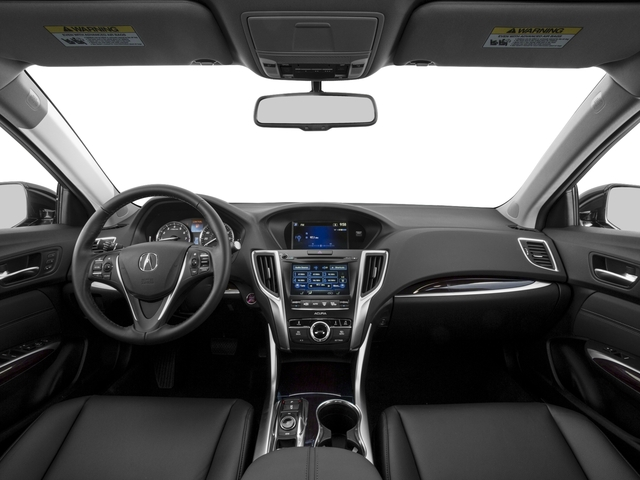 2016 Acura TLX Prices and Values Sedan 4D V6 full dashboard