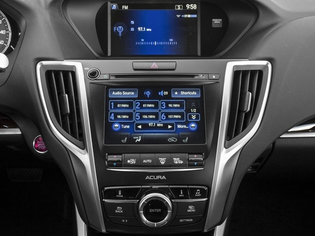 2016 Acura TLX Prices and Values Sedan 4D V6 stereo system