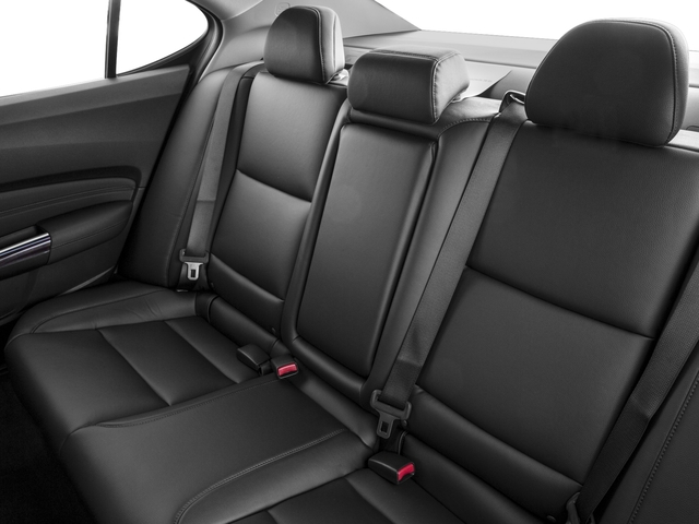 2016 Acura TLX Prices and Values Sedan 4D V6 backseat interior