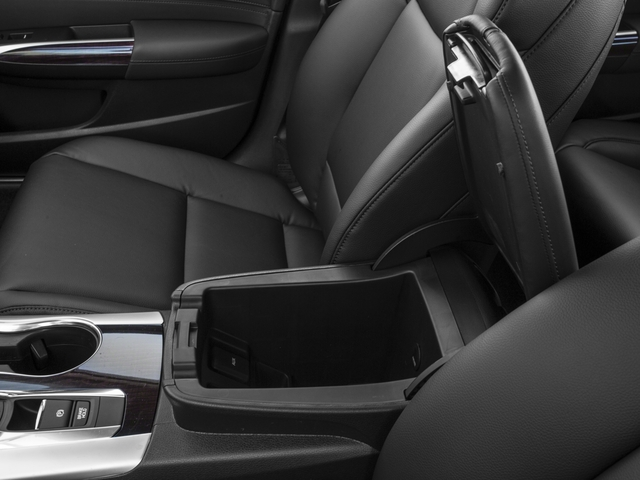 2016 Acura TLX Prices and Values Sedan 4D V6 center storage console