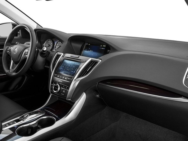 2016 Acura TLX Prices and Values Sedan 4D V6 passenger's dashboard