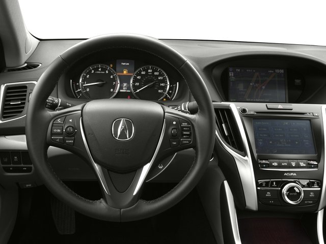 2016 Acura TLX Prices and Values Sedan 4D Technology AWD V6 driver's dashboard