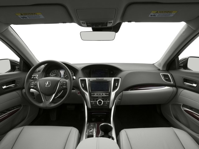 2016 Acura TLX Prices and Values Sedan 4D Technology AWD V6 full dashboard