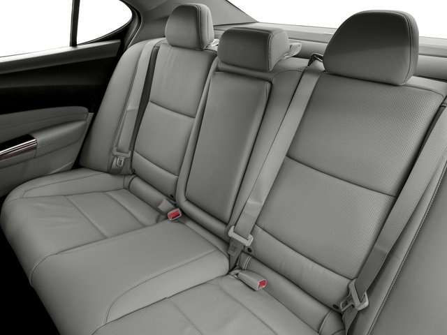 2016 Acura TLX Prices and Values Sedan 4D Technology AWD V6 backseat interior