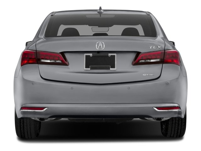 2016 Acura TLX Prices and Values Sedan 4D Advance AWD V6 rear view