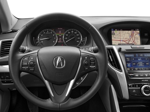 2016 Acura TLX Prices and Values Sedan 4D Advance AWD V6 driver's dashboard