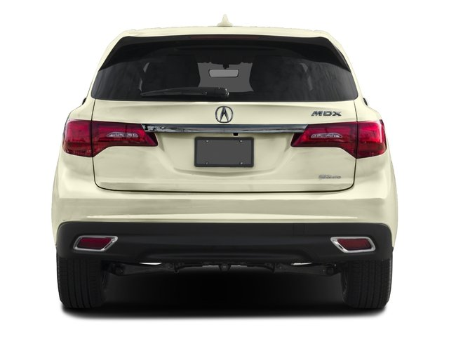 2016 Acura MDX Prices and Values Utility 4D AWD V6 rear view