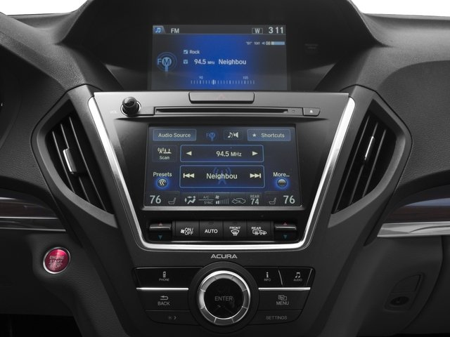 2016 Acura MDX Prices and Values Utility 4D AWD V6 stereo system