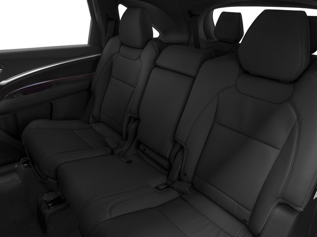 2016 Acura MDX Prices and Values Utility 4D AWD V6 backseat interior