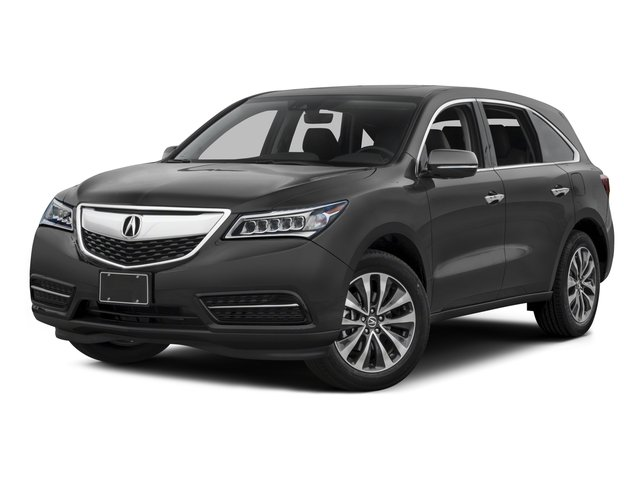 2016 Acura MDX Prices and Values Utility 4D Technology 2WD V6 side front view