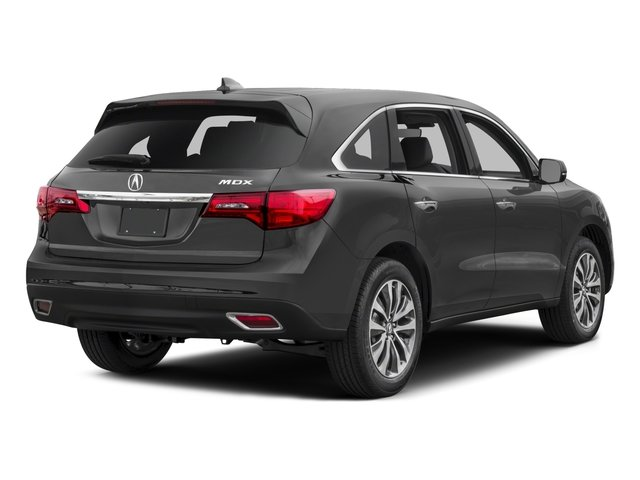 2016 Acura MDX Prices and Values Utility 4D Technology 2WD V6 side rear view