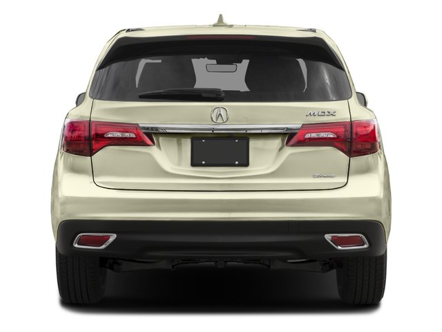 2016 Acura MDX Prices and Values Utility 4D Technology 2WD V6 rear view