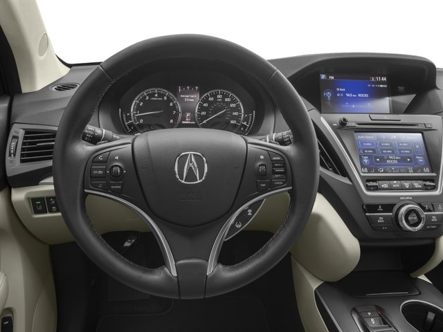 2016 Acura MDX Prices and Values Utility 4D Technology 2WD V6 driver's dashboard
