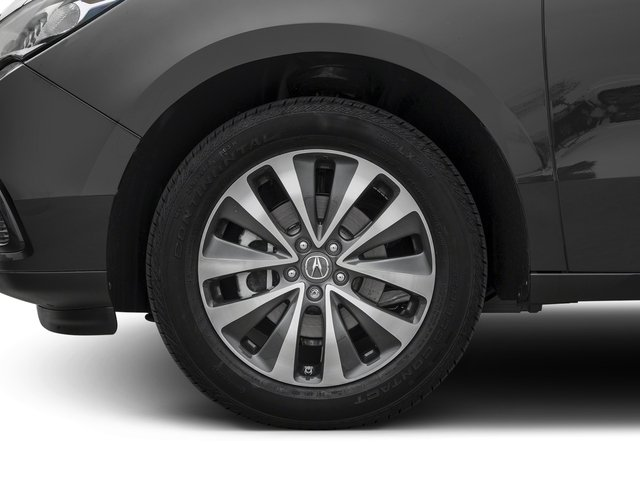 2016 Acura MDX Prices and Values Utility 4D Technology 2WD V6 wheel