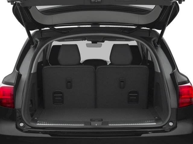 2016 Acura MDX Prices and Values Utility 4D Technology 2WD V6 open trunk