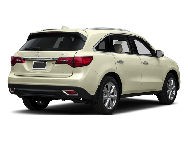 2016 Acura MDX Prices and Values Utility 4D Advance AWD V6 side rear view