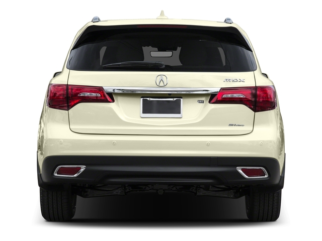 2016 Acura MDX Prices and Values Utility 4D Advance AWD V6 rear view