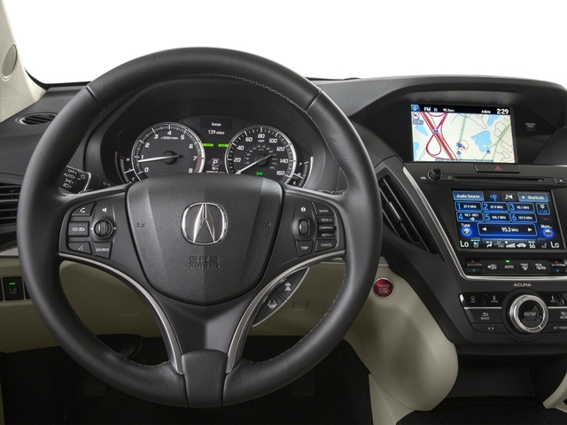 2016 Acura MDX Prices and Values Utility 4D Advance AWD V6 driver's dashboard