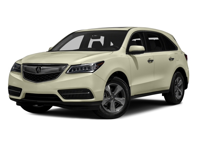 2016 Acura MDX Prices and Values Utility 4D 2WD V6 side front view