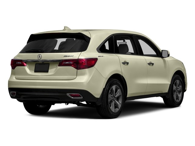 2016 Acura MDX Prices and Values Utility 4D 2WD V6 side rear view