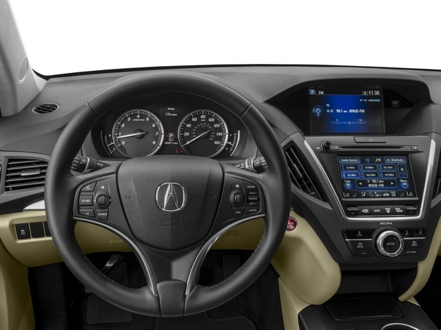 2016 Acura MDX Prices and Values Utility 4D 2WD V6 driver's dashboard