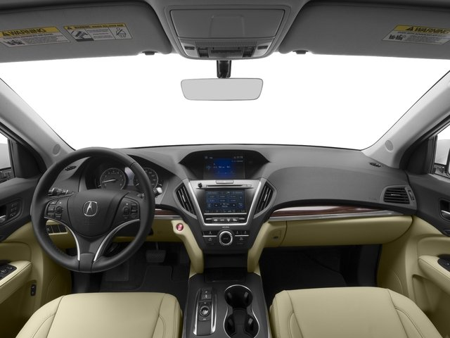 2016 Acura MDX Prices and Values Utility 4D 2WD V6 full dashboard