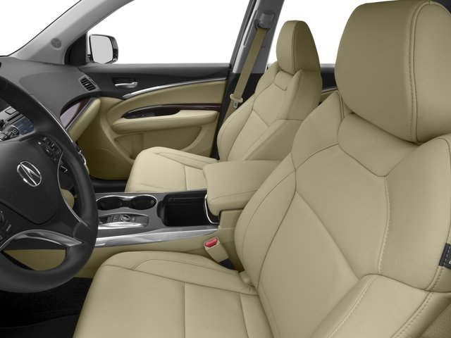 2016 Acura MDX Prices and Values Utility 4D 2WD V6 front seat interior