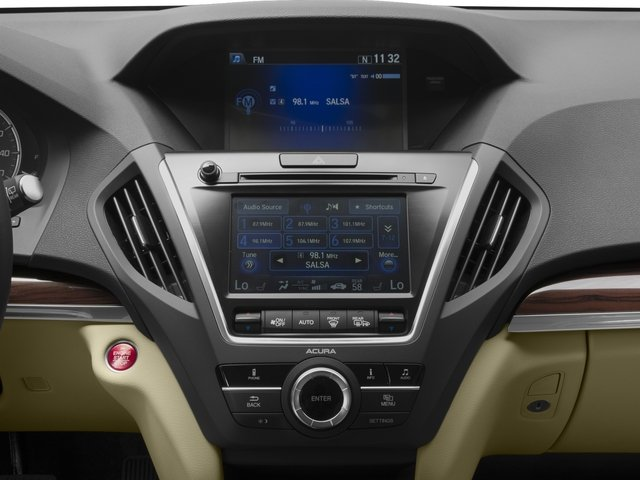2016 Acura MDX Prices and Values Utility 4D 2WD V6 stereo system