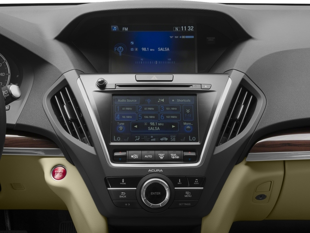 2016 Acura MDX Pictures MDX Utility 4D 2WD V6 photos stereo system