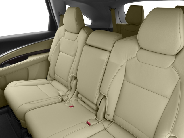 2016 Acura MDX Prices and Values Utility 4D 2WD V6 backseat interior