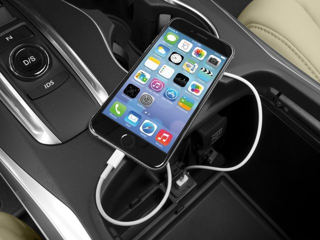2016 Acura MDX Prices and Values Utility 4D 2WD V6 iPhone Interface